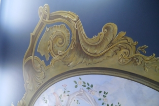 Plafond détail cadre